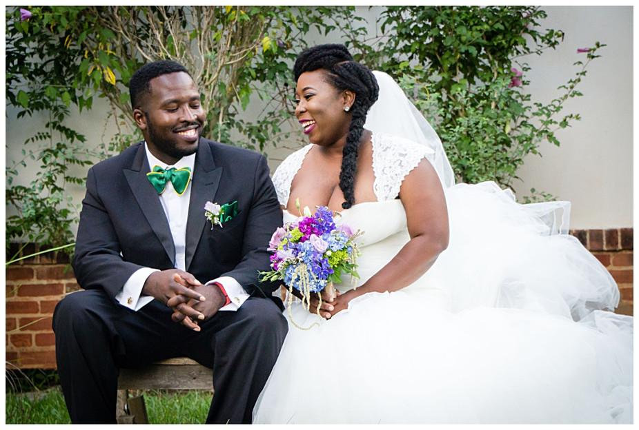 The Solarium at Historic Scottish Rite Wedding | Atlanta Wedding Photographer | Tranichsha + Dayan