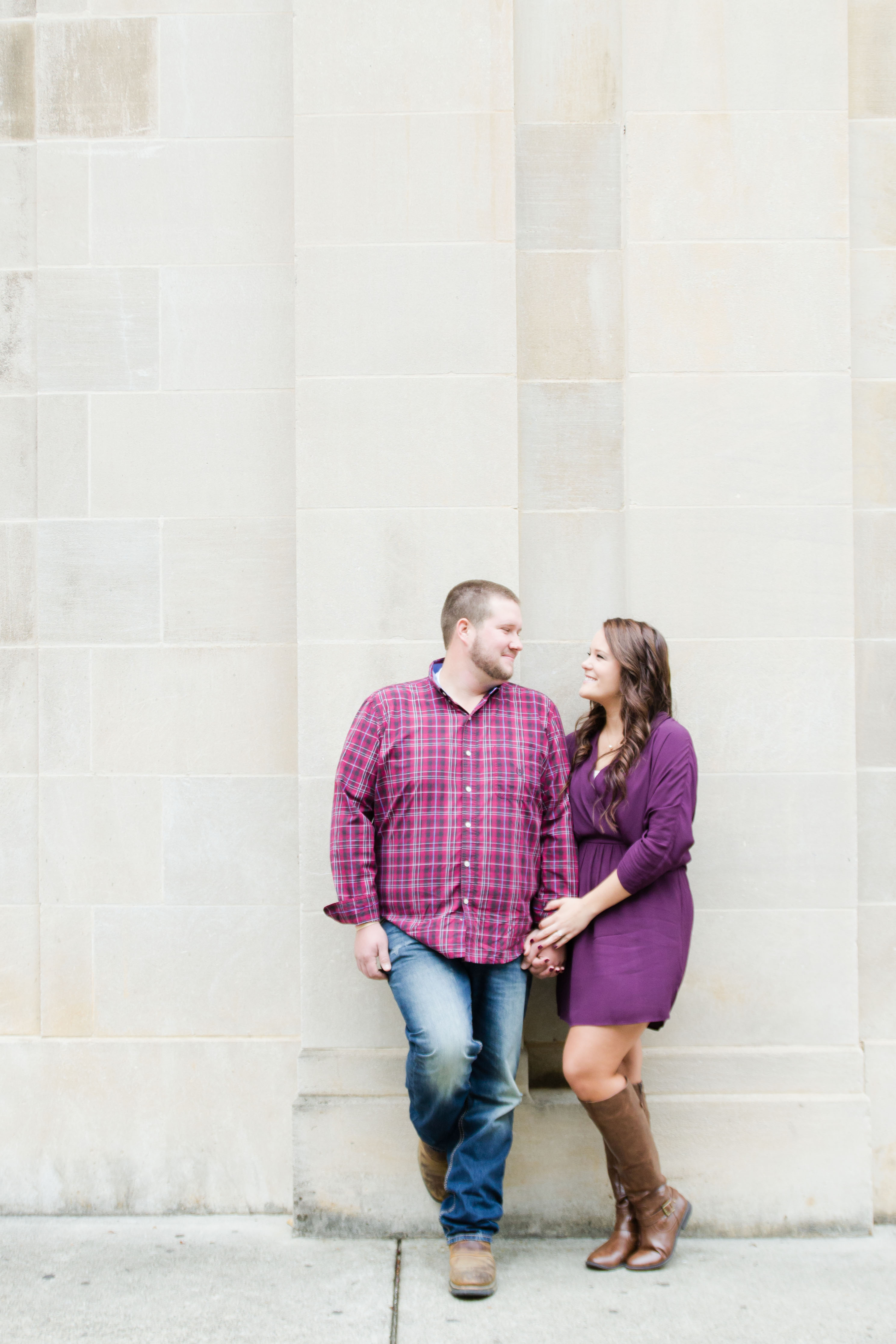 Downtown Augusta Engagement