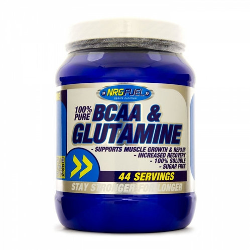 NRG BCAA and Glutamine