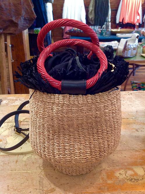 Aranaz Straw Bag