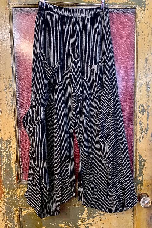 Dress To Kill Black White Stripe Stripe Harem Pant