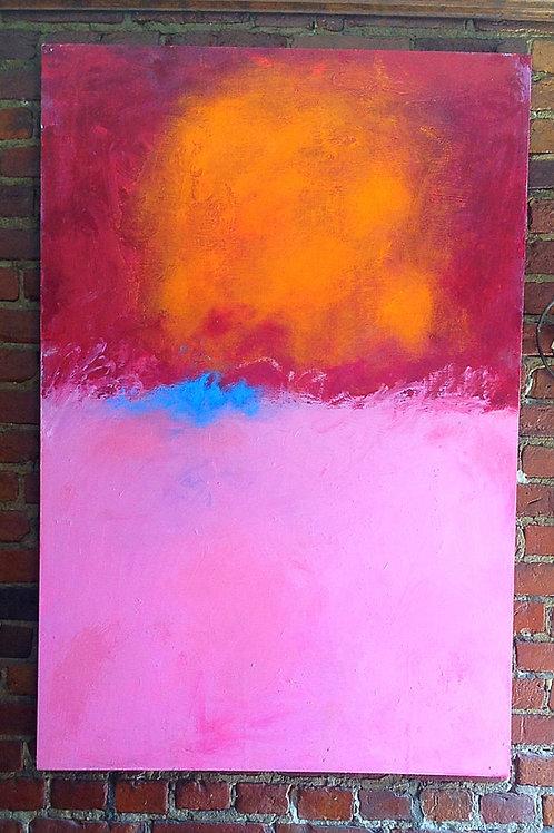 Mia Muratori Oil & Wax on Maplewood