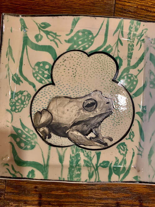 Hannah Niswonger Small Frog Plate