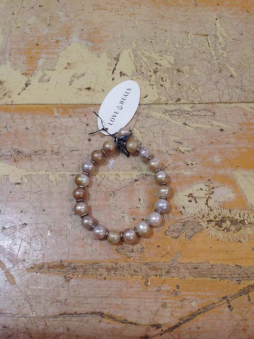 Love Heals Pearl Bracelet