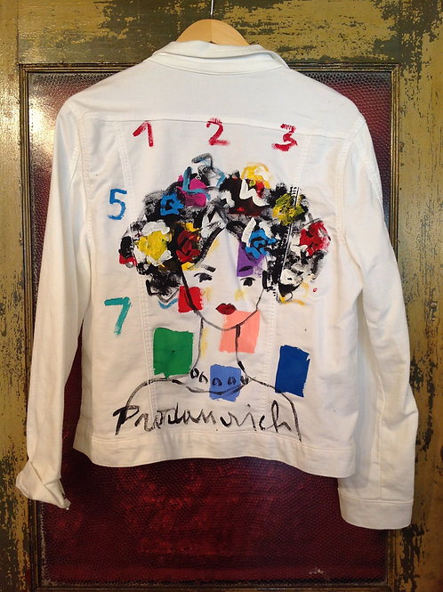 Vladimir Prodanovich Originals on White Cotton Jacket
