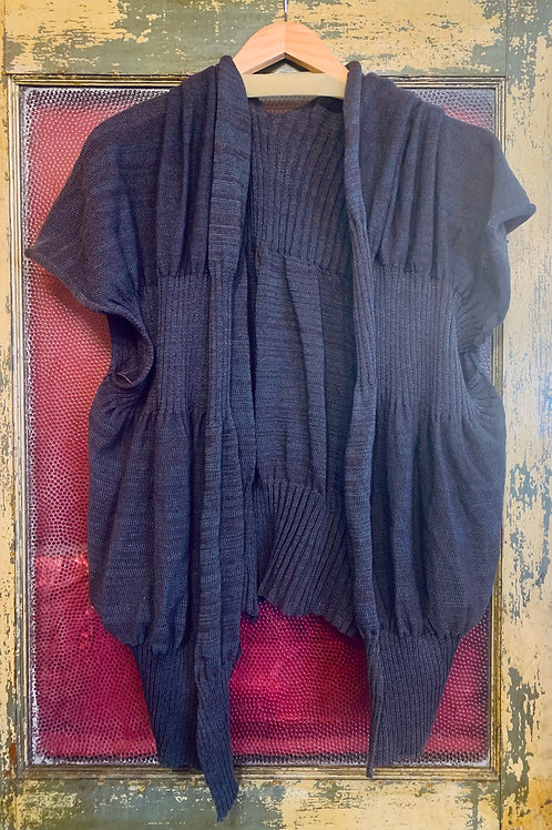 Skif Open Ribbed Open Front Cardi