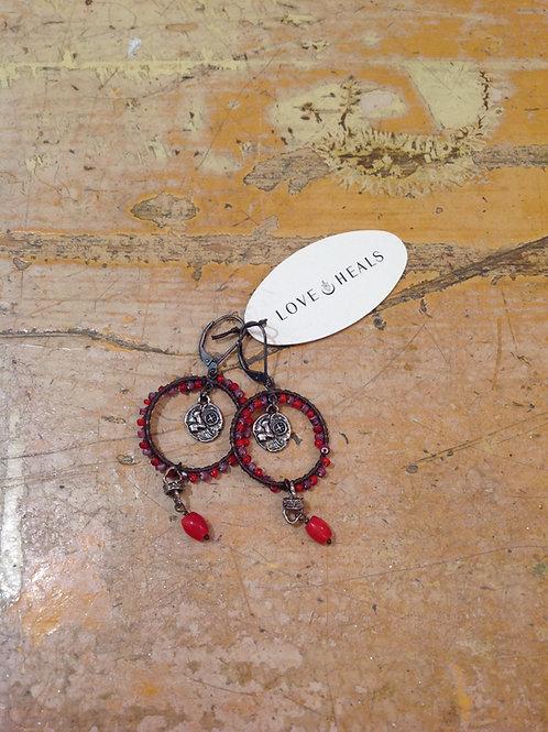 Love Heals Sedona Earrings