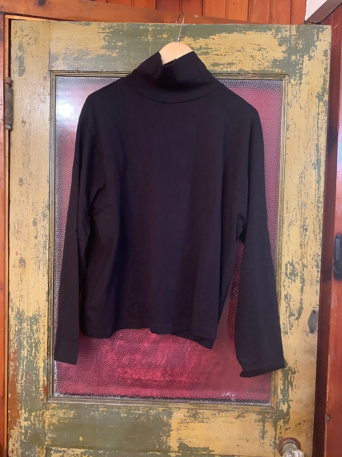 Wol Hide Cotton Easy MockNeck