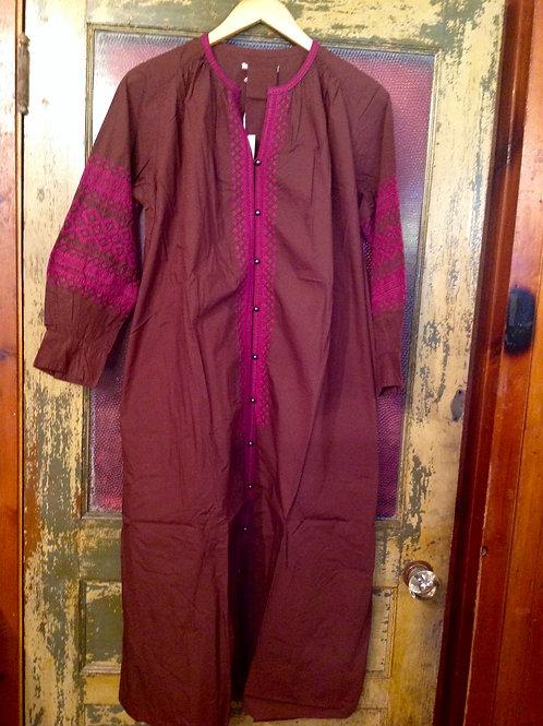 NE QUITTEZ PAS Poplin Embellished Dress