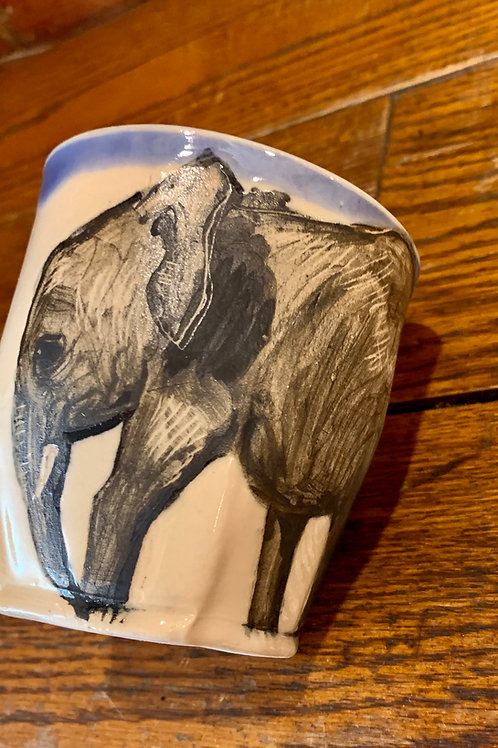 Hannah Niswonger Alphabet Cup - Elephant