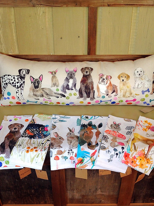 Betsy Olmsted Linens and Pillow