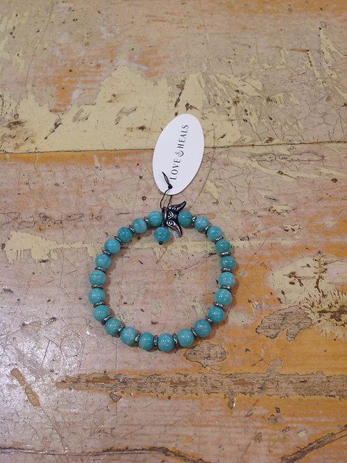 Love Heals Amazonite Bracelet