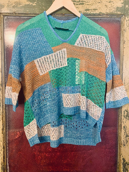 M.&Kyoko Knitted Pullover