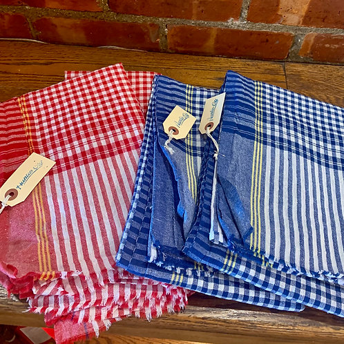 Gingham Checked Towel