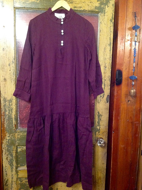 Sugar Candy Mountain Cleo Dress in Eggplant