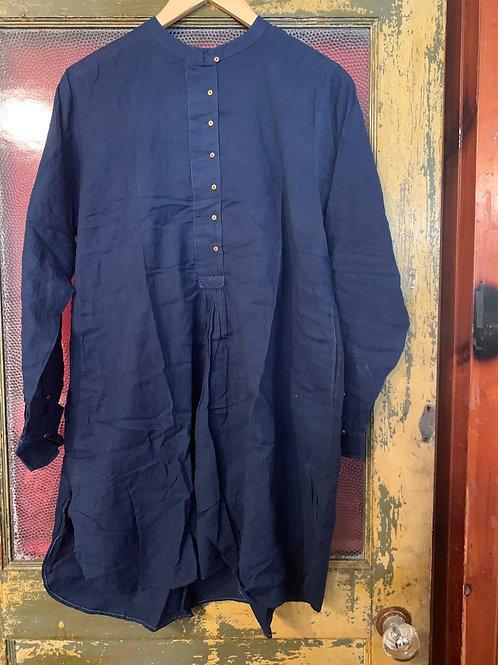 Injiri Indigo Tunic Shirt