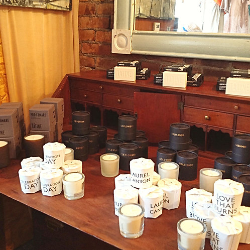 Tatine Candles and Soap