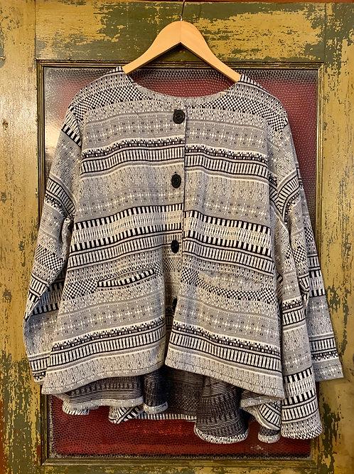 Dress To Kill Aztec Swing Coat