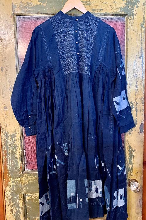 Injiri Indigo Dress