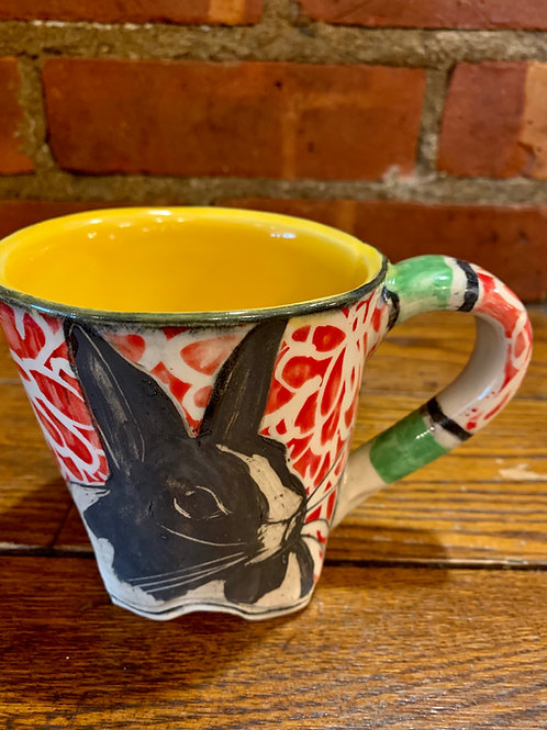 Hannah Niswonger Rabbit Mug