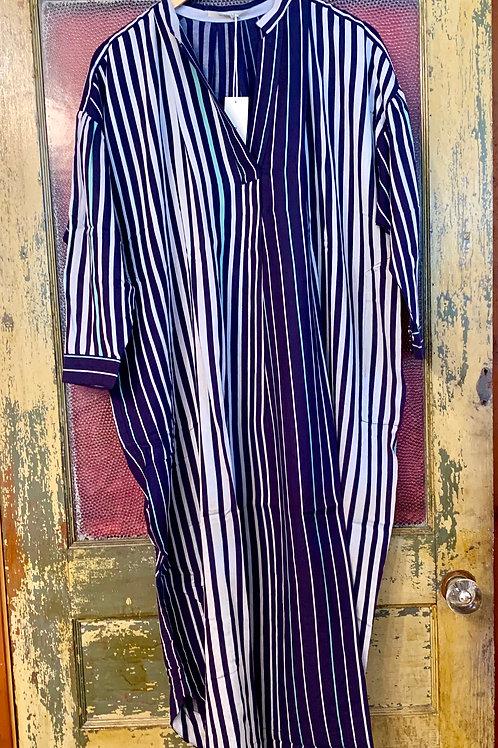 Ne Quittez Pas Navy Stripe Dress
