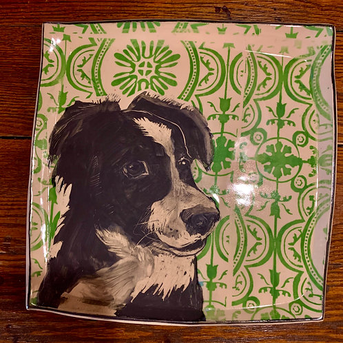 Hannah Niswonger Large Dog Plate