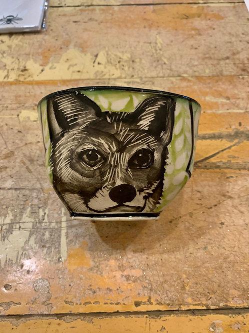 Hannah Niswonger Medium Bowl - Red Fox