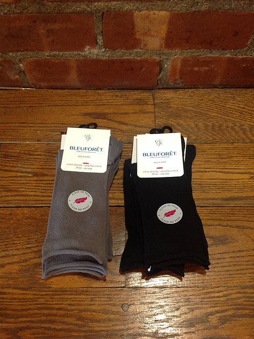 Bleuforêt Ultra Fine Cotton Sock
