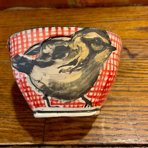 Hannah Niswonger Small Bird Bowl