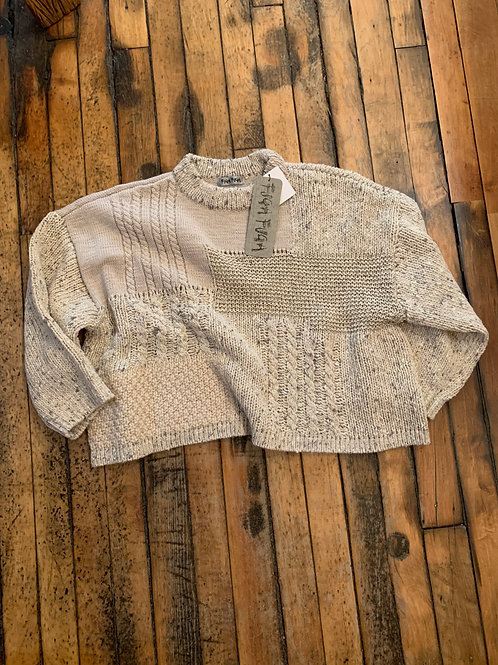 Fugu Fuga Knitted Cable Pullover
