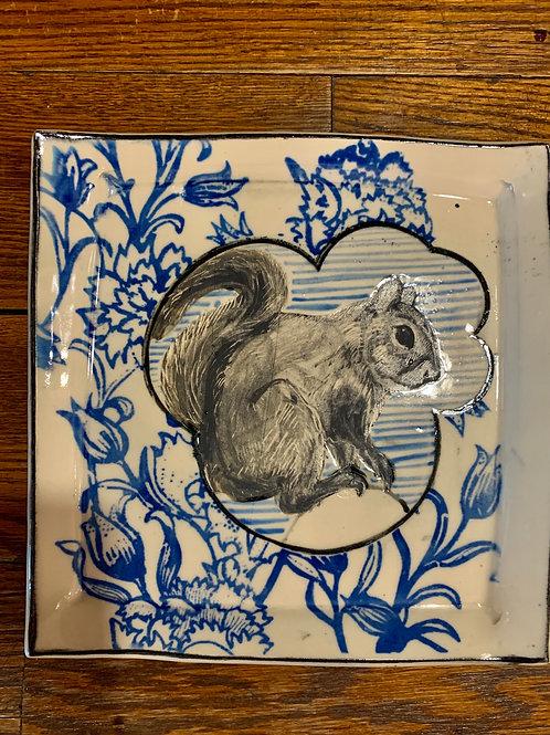 Hannah Niswonger Small Squirrel Plate