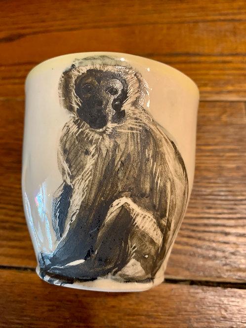 Hannah Niswonger Alphabet Cup - Monkey