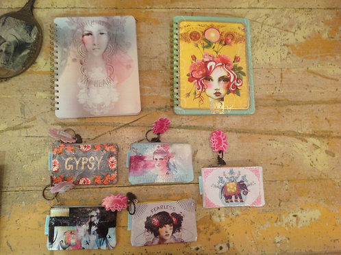 Papaya Pouches & Notebooks