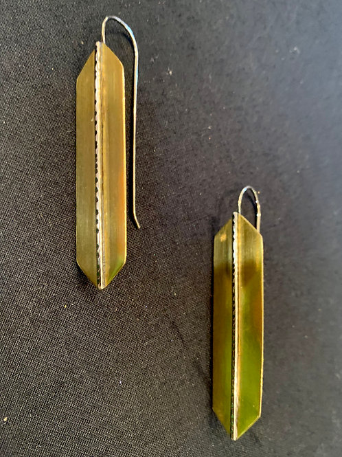 Claire Sommers Buck Sari Earrings