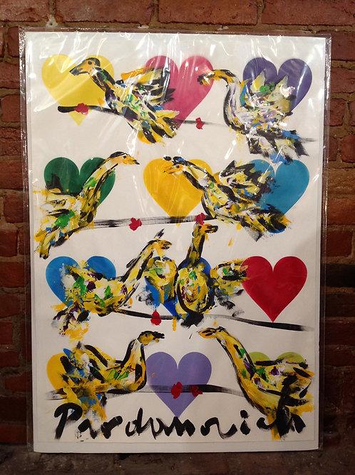 "Vladimir Prodanovich Original- ""Love Birds"""