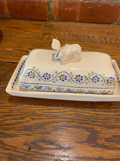 Chris Levy Fish Butter Dish