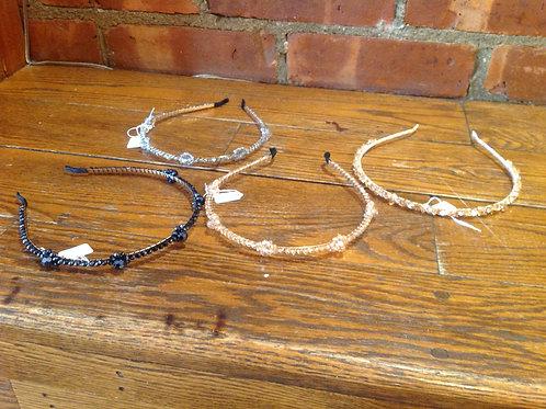 Medusas Heirlooms Crystal Headbands
