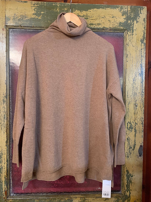 CT Plage Camel Cashmere Turtleneck
