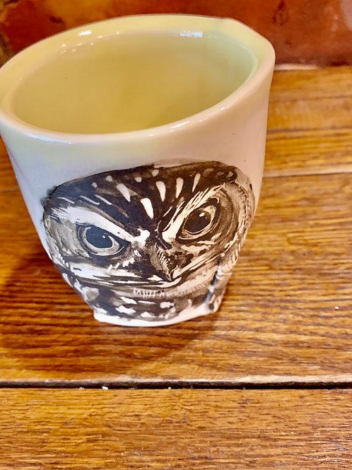 Hannah Niswonger Alphabet Cup - Owl