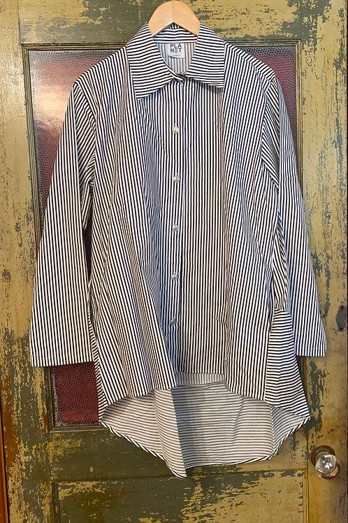 Planet Stripe Shirt w/ Pockets