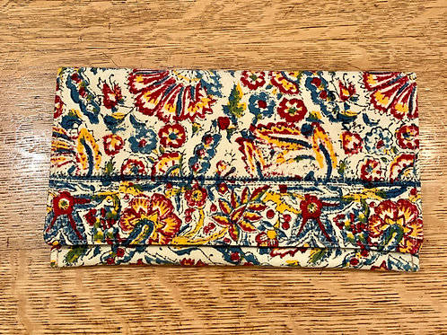 Totem Vintage Paisley Clutch