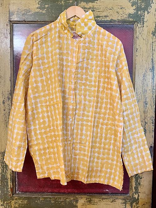 Auntie Oti Gold Circle Shirt