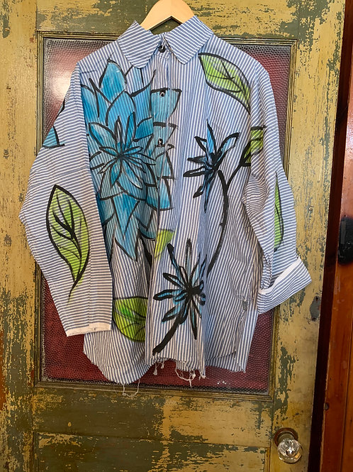 Skif Cut Shirt Flowers