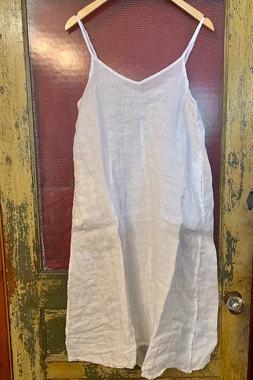 CP Shades White Slip Dress