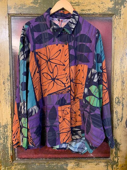 Dress To Kill Multi Color Blouse