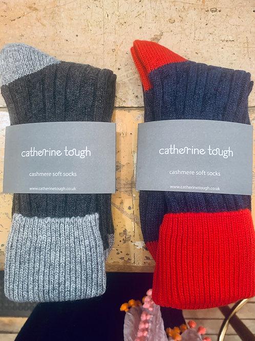 Catherine Tough Cashmere Socks