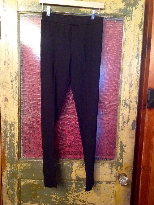 Planet Slim Leg Black Pant