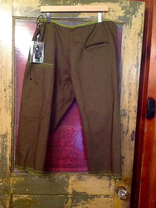 Skif Joy Pant in Brown with Green Lining