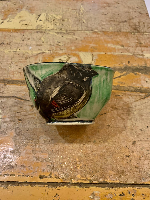 Hannah Niswonger Small Bowl - Bird
