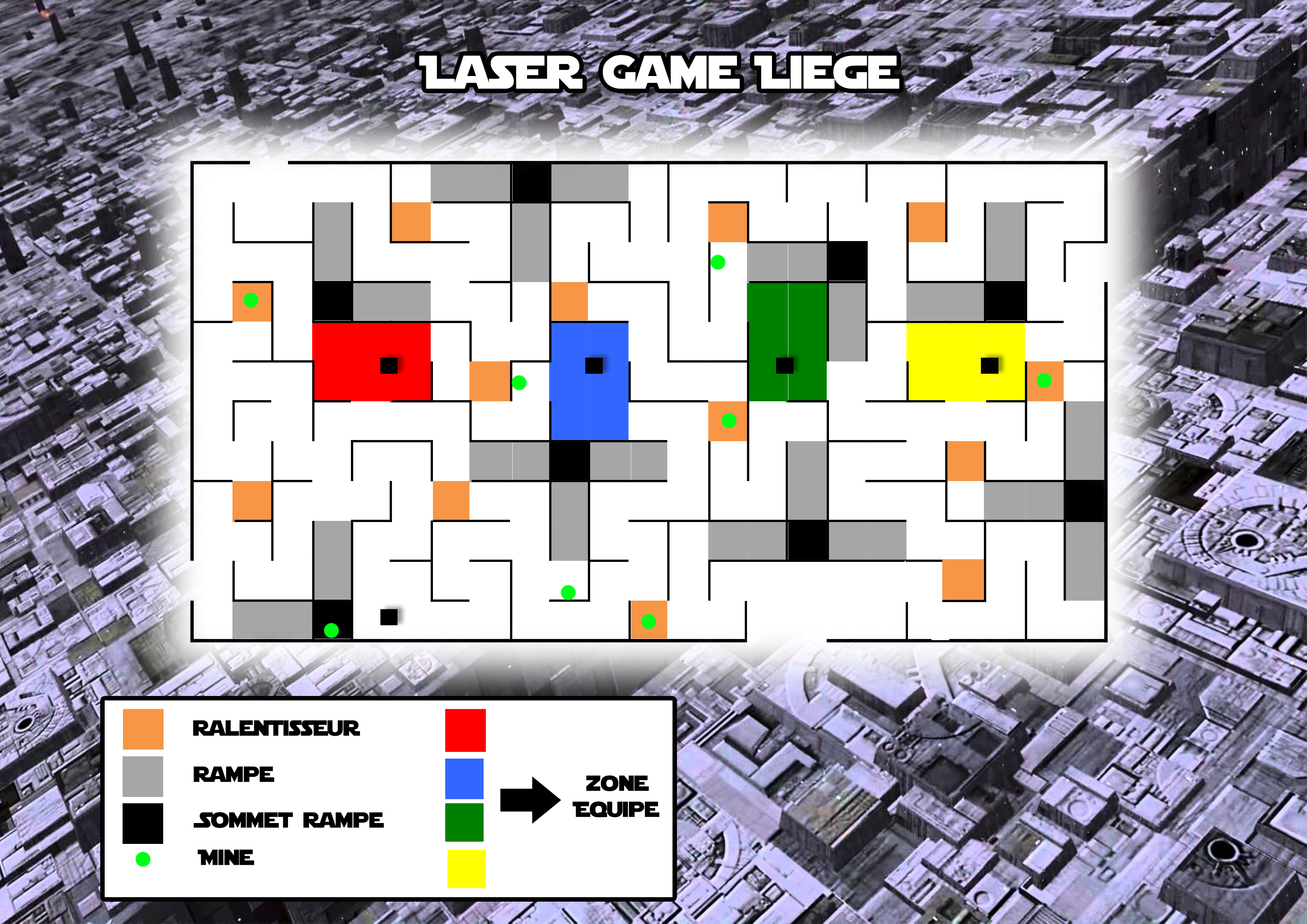 Plan Laser Game Liege